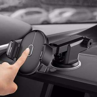 Screen-mounted mobile phone bracket sucker car with a car navigation car universal universal support