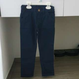 BNWT Mothercare long navy pant