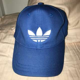 Blue Adidas Baseball Cap Hat