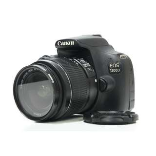 Canon EOS 1200D body with 18-55mm Kit Lens