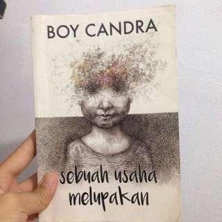 Novel BOY CANDRA-SEBUAH USAHA MELUPAKAN