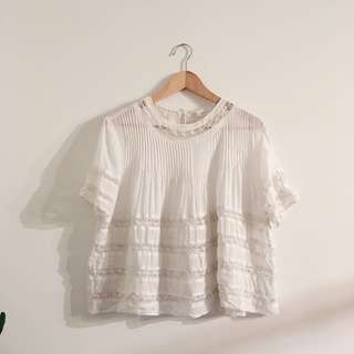 Wilfred beaudry blouse - white | XS