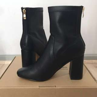 Brand New* Leather Sock Boots