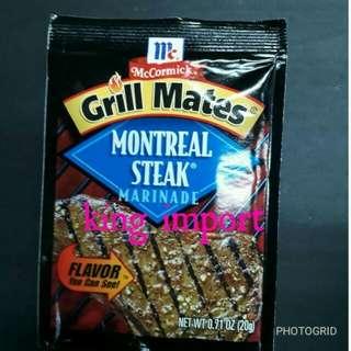 Mccormick Grill Mates Montreal Steak Marinade 20gr