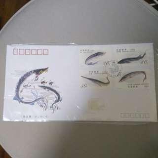 1994年中國郵票-中华鲟