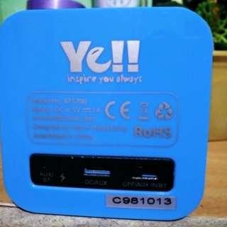Ye!! Bluetooth speaker