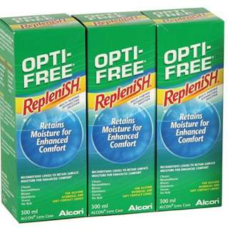 Opti free replenish contact lens solution