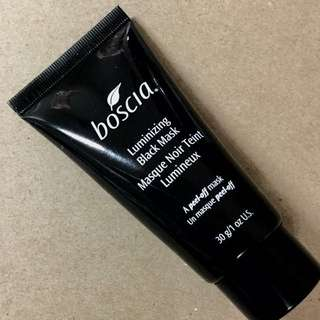 Boscia peel-off luminizing black mask New