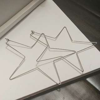 ALDO Star Hoop Earrings