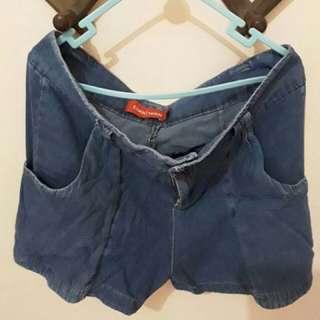 Cool teen short denim pants (celana pendek jeans)