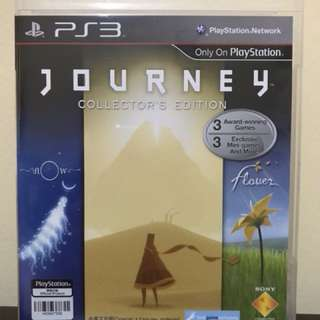 PS3: JOURNEY COLLECTOR'S EDITION