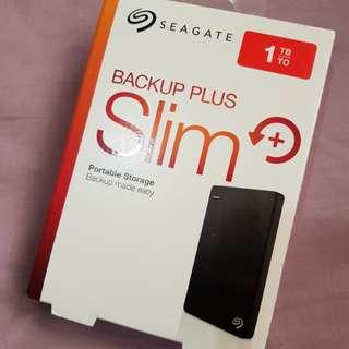 Repriced! Brandnew 1 tb Seagate External hard drive