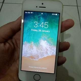 Iphone se gold colour