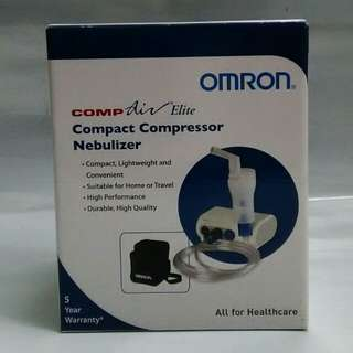 Omron NEC 30 Nebulizer with rechargeable battery pack