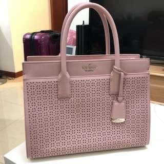99% 新 Kate Spade 粉紅色手袋