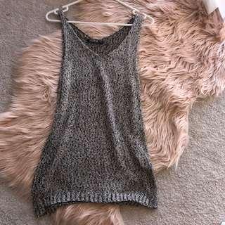 Knit singlet top