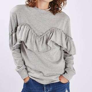 TOPSHOP Ruffle Sweater