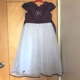 New Frozen Winter Party Dress