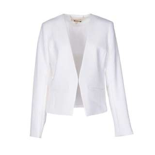 MK Michael Kors white blazer jacket 6 12 14 16