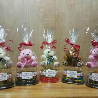 Chocolates with bear!