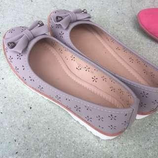 Verns flat shoes grey