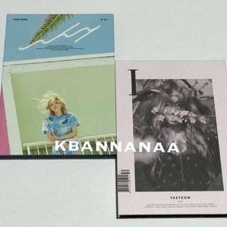 Taeyeon <I> and <WHY> album