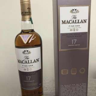 Macallan 17 年Fine Oak