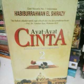 Novel  Ayat Ayat Cinta 2 By Habiburrahman  El Shirazy