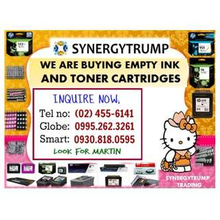 HIGHEST PRICE OF EMPTY INK AND TONER CARTRIDGES