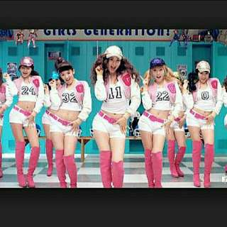 Girls' Generation Pink Cropped Baseball Jacket