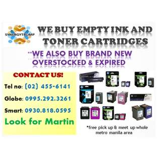 BUYER OF INK CARTRIDGES (EMPTY)