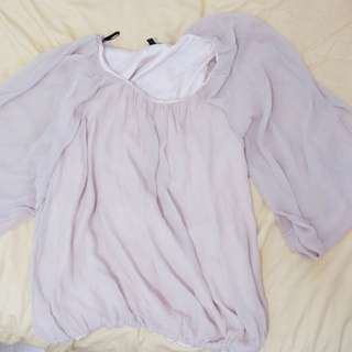 Warehouse Baby Pink Blouse