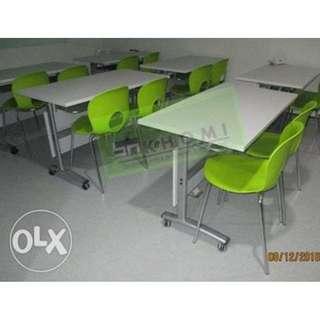 KHOMI--TT-SLVR15  Reda tables & chairs