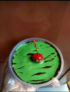 Cake lumer green tea