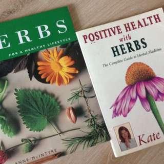 2 books on Herbs