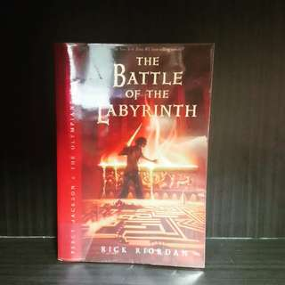 Percy Jackson Book 5 The Battle of the Labyrinth