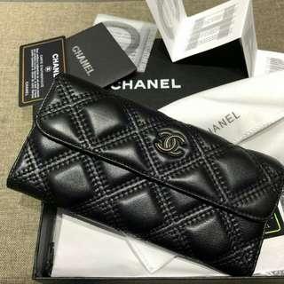 Chanel Wallet Black
