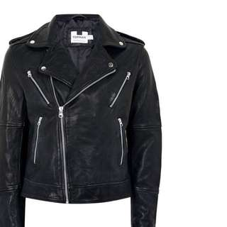Selling BRAND NEW WITH TAGS. SMALL Genuine leather jacket