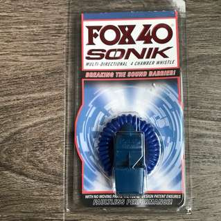 Whistle - FOX 40 sonic multi-directional 4 chamber whistle