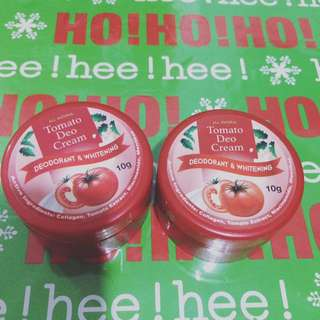 2 for 180 tomato deo cream