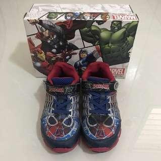 Stride Rite Marvel SpiderMan Shoes Size US 12, UK 11