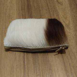 Furry Purse from Cape Town