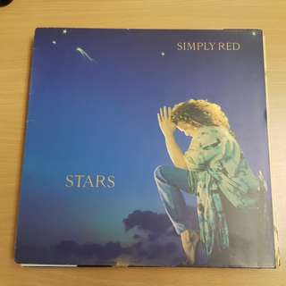 Simply Red Stars Vinyl LP Original Pressing Rare