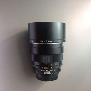 Zeiss 85mm for Nikon cam