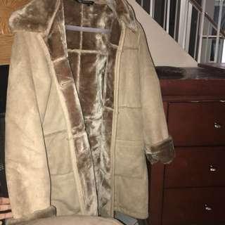 Warm and comfy fur jacket