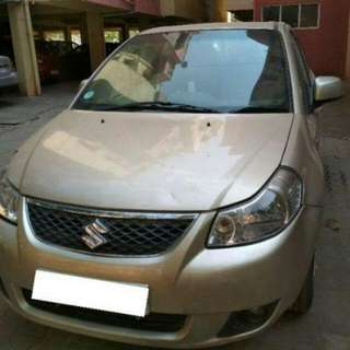 Used Car Suzuki SX4 Sedan (Gold)
