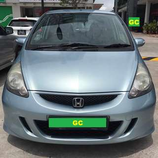 Honda Jazz RENTING CHEAPEST RENT AVAILABLE FOR Grab/Uber USE
