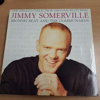 Jimmy Sommerville Bronski Beat Communards Collection Vinyl LP Original Pressing Rare