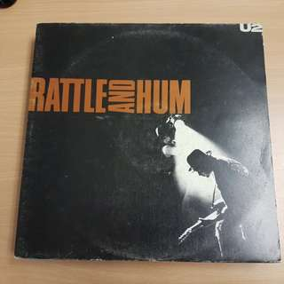 U2 Rattle & Hum Double Vinyl LP Original Pressing Rare