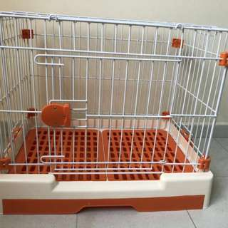 Small Animals Cage (Orange)